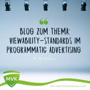 Viewability-Standards im Programmatic Advertising